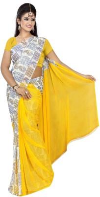 Atmiyaz Printed Fashion Georgette Sari