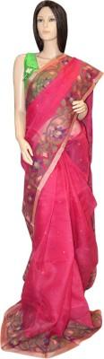 Exin Fashion Self Design Fashion Muslin Sari