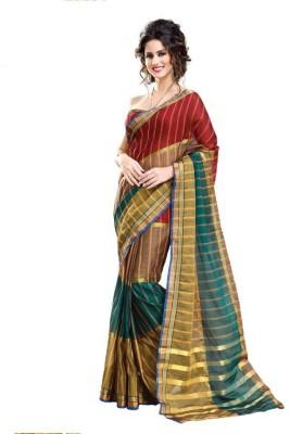 Radhika Creation Self Design Chanderi Cotton Sari