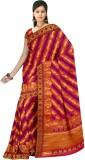 DRJ Sarees Self Design Banarasi Silk Sar...