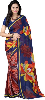 Anoha Printed Fashion Georgette Sari