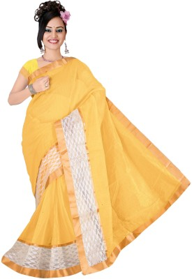 Karmafreshlooks Self Design Fashion Art Silk Sari