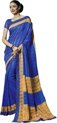 Go Traditional Self Design Fashion Silk Sari