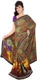 Janya Self Design Madurai Georgette Sari