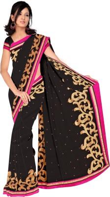 Aruna Sarees Embriodered Fashion Chiffon Sari