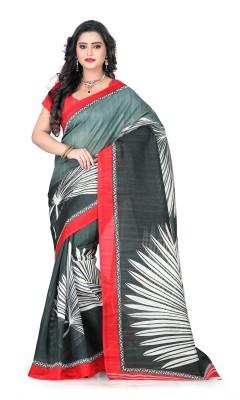 Vastrakala Printed Bollywood Art Silk Sari