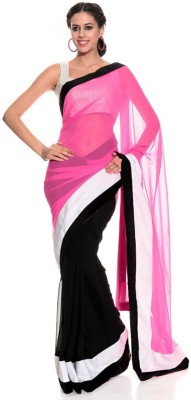 Temptingg Fashions Embellished Bollywood Chiffon Sari