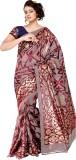 SUYOG PRINTS Printed Daily Wear Silk Sar...