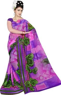 Shivam Saree Printed Fashion Chiffon Sari