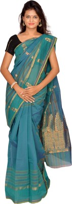 Jagadamba Solid Coimbatore Cotton Sari