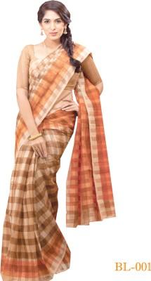 Uniformsareesindia Solid Kota Doria Cotton Sari