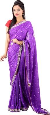 Laxmi Kripa Floral Print Fashion Handloom Silk Sari