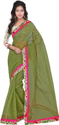 Sarvagny Clothing Floral Print Daily Wear Art Silk Sari