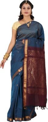 APR Brand Solid Coimbatore Handloom Cotton Sari