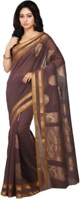 Pratami Floral Print Fashion Silk Cotton Blend Sari