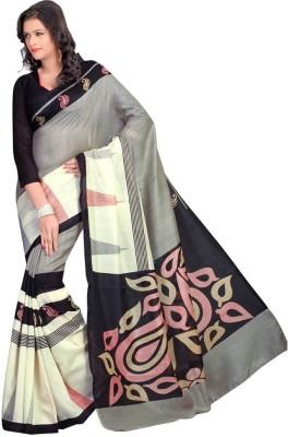 SayShopp Printed Bhagalpuri Cotton Sari