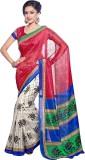 Nistulaa Floral Print Bhagalpuri Handloo...