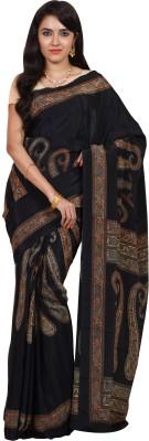 Nilesh Fab Plain Fashion Crepe Sari
