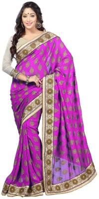 Lakmeart Embriodered Fashion Jacquard Sari