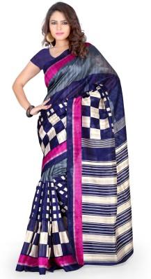 Styloce Self Design Bhagalpuri Handloom Art Silk Sari