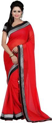 Sahaj Creation Embriodered Bollywood Synthetic Fabric Sari