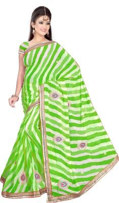 ST saree Solid Bollywood Georgette Sari