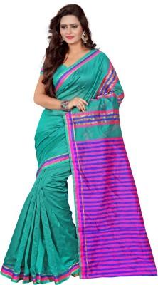 Jagdamba Creation Printed Fashion Silk Sari
