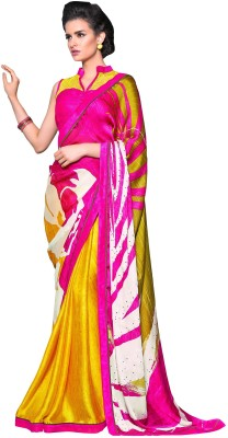 Diva Fashion-Surat Printed Bollywood Handloom Georgette Sari