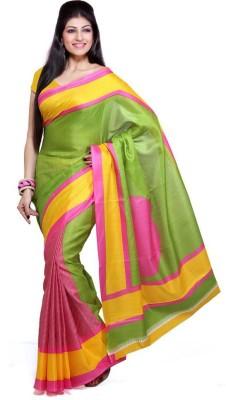 LaazreeFashion Printed Bhagalpuri Silk Sari