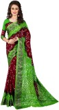 Clothvilla Self Design Bandhani Art Silk...