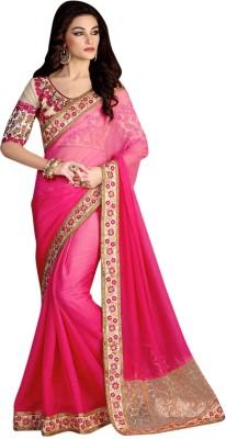 Brijraj Embriodered Fashion Chiffon Sari