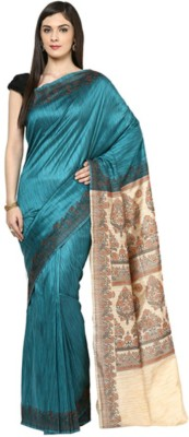 Anjani Creation Self Design Patola Banarasi Silk Sari