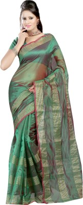 Dealtz Fashion Printed Mysore Jacquard Sari