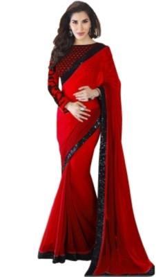 Bonivos Printed Bollywood Georgette Sari