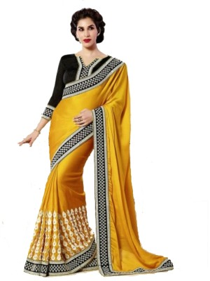Shree Khodal Enterprise Embriodered Fashion Georgette Sari