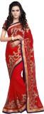 Aruna Sarees Embroidered Fashion Chiffon...