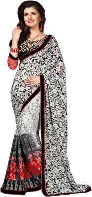 By Aktrendz Printed Bollywood Georgette Sari
