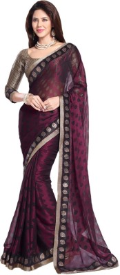 Aanaya Fashions Polka Print Bollywood Art Silk Sari