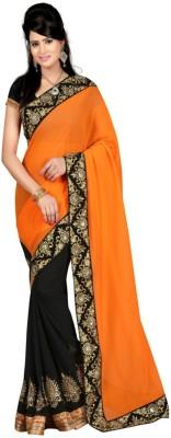 Ritika Embriodered Bollywood Georgette Sari