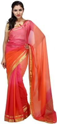 KALYANAM Printed Maheshwari Georgette Sari