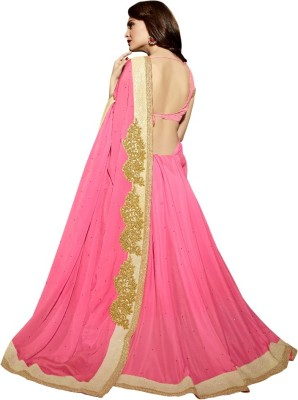 Reema Khandelwal Embriodered Fashion Chiffon Sari