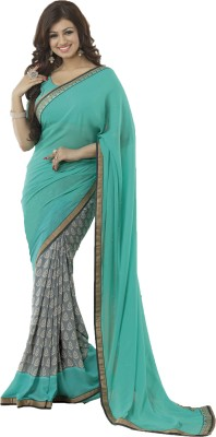 Poonam Saree Embriodered Bollywood Pure Georgette Sari