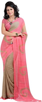 Madhudsarees Printed Daily Wear Georgette Sari