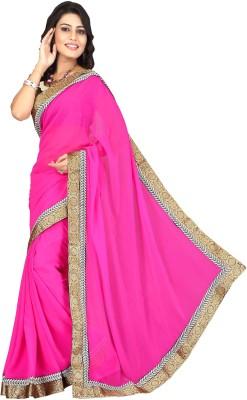 Parishi Fashion Embriodered Bollywood Chiffon Sari