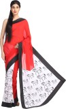 Avya Printed Fashion Handloom Georgette ...