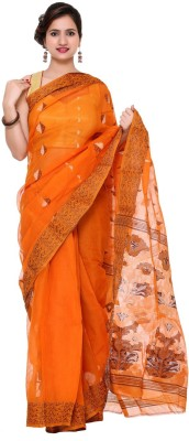 Khadi Natural Self Design Fashion Khadi Sari