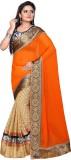 Dlines Self Design Fashion Georgette Sar...