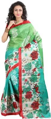Monika Silk Mill Printed Daily Wear Art Silk Sari