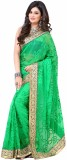 Setu Embroidered Fashion Brasso Saree (G...