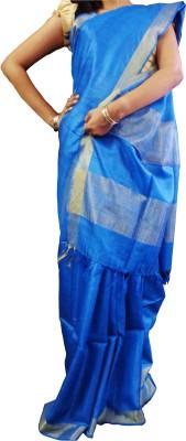 Mosanta De Boutique Solid Fashion Silk Sari